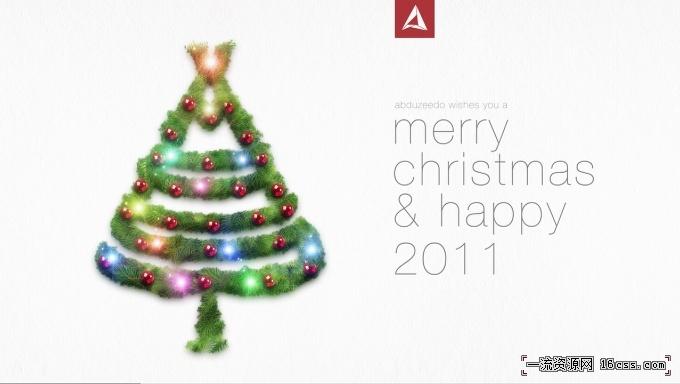 b4c7569dfc95c4bd5454077991e50425 在PHOTOSHOP中设计漂亮的圣诞树