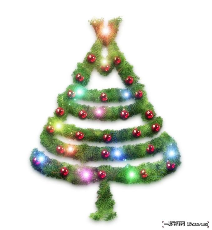 1721ae86e15d962b479c559e38952326 在PHOTOSHOP中设计漂亮的圣诞树
