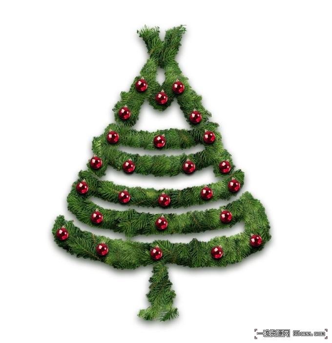 e9037e08e04c40bc9a9abfd22b9912bc 在PHOTOSHOP中设计漂亮的圣诞树