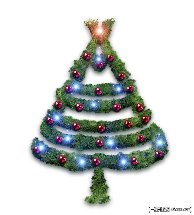 c910d351c1b2369c1562f1d6586d2161 在PHOTOSHOP中设计漂亮的圣诞树