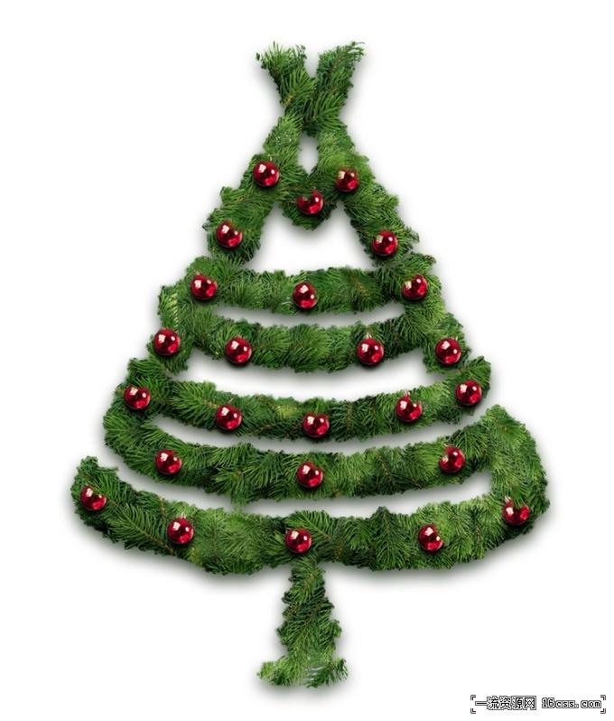 2557ac2cdb3ebed217f78e1430399532 在PHOTOSHOP中设计漂亮的圣诞树