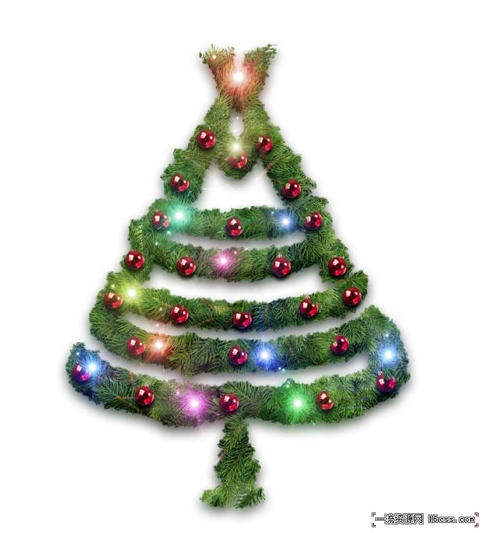 976fc76cfdb76aa10c989abb03f72ee0 在PHOTOSHOP中设计漂亮的圣诞树