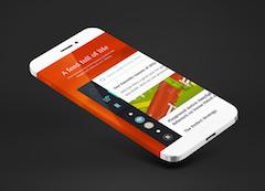 手机模型展示PSD样机素材