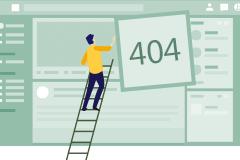 网页404页面图标素材