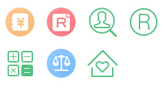 一组PNG透明知识产权图标素材