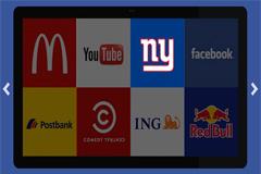 jquery电视墙高亮幻灯片焦点图代码