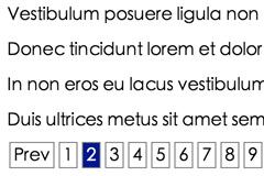 jQuery网页分页显示特效代码
