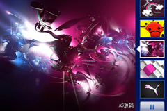 NBA中国网站FLASH焦点图代码