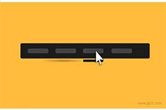 jquery鼠标滑过左右动画移动导航条