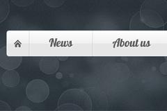 纯CSS3制作的仿FLASH效果动画菜单代码