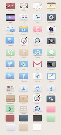 手机图标设计模板psd图片素材下载