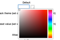 Colors jquery颜色选择器控件