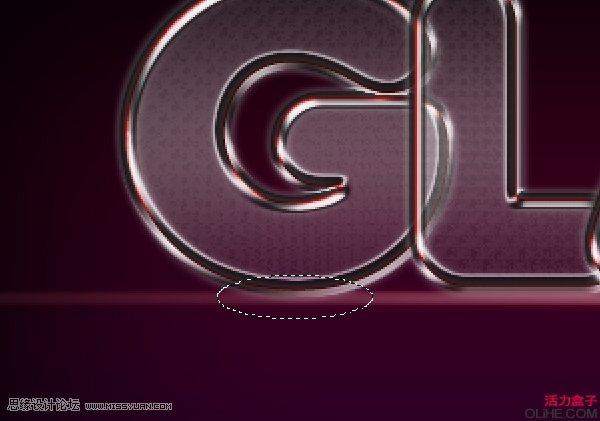 Photoshop创建一个俏皮的玻璃文字效果,PS教程,思缘教程网