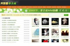 帝国CMS非主流网站模板