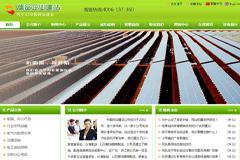绿色帝国cms企业网站模板