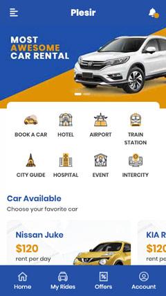 租车汽车旅行类移动端企业网站模板/APP/手机端模板