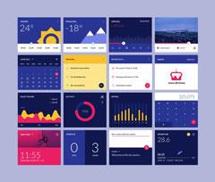 手机UI工具包PSD界面设计