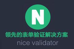 nice validator - 领先的表单验证解决方案