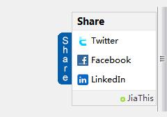 英文版加网社会化分享按钮代码