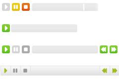 网页实用最简单的flash mp3播放器代码-多样式