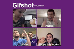创建gif动画插件Gifshot