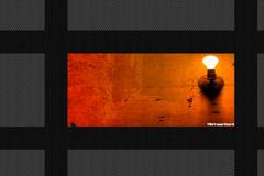 鼠标移过翻牌显示图片的JS全屏相册代码