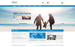 照明技术公司网站PSD图片素材下载