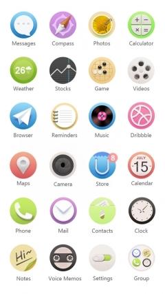 安卓ios手机图标psd图片素材下载