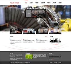 制造业网站模板PSD图片素材下载