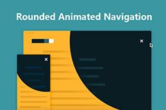 jquery圆形的动画导航用