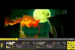 焦点图风格动态Flash视频播放器代码