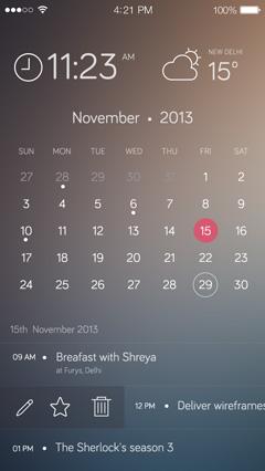 黑色苹果手机分层UI样机素材